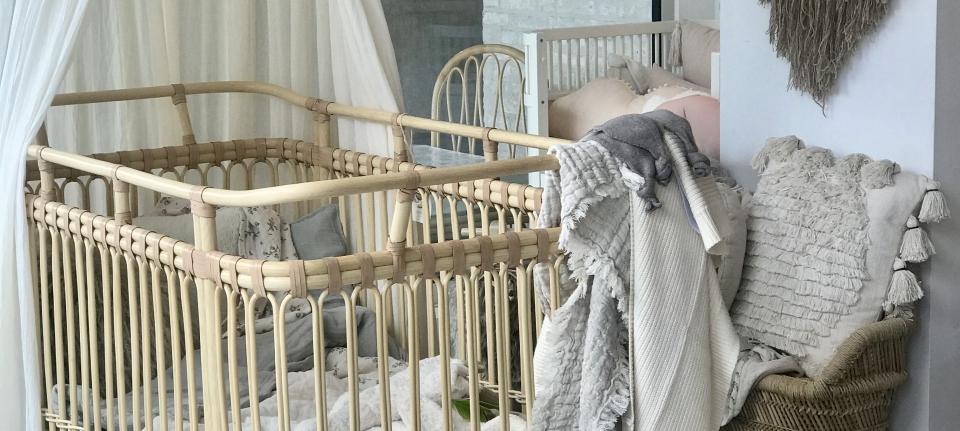 Bermbach : bed // Senger : eenden // Garbo&Friends : bedlinnen // Lorena Canal : tapijt // Cotton & Sweet : hemel