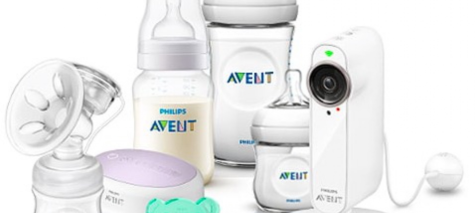 Avent nurse feed sleep babyfoon phillips
